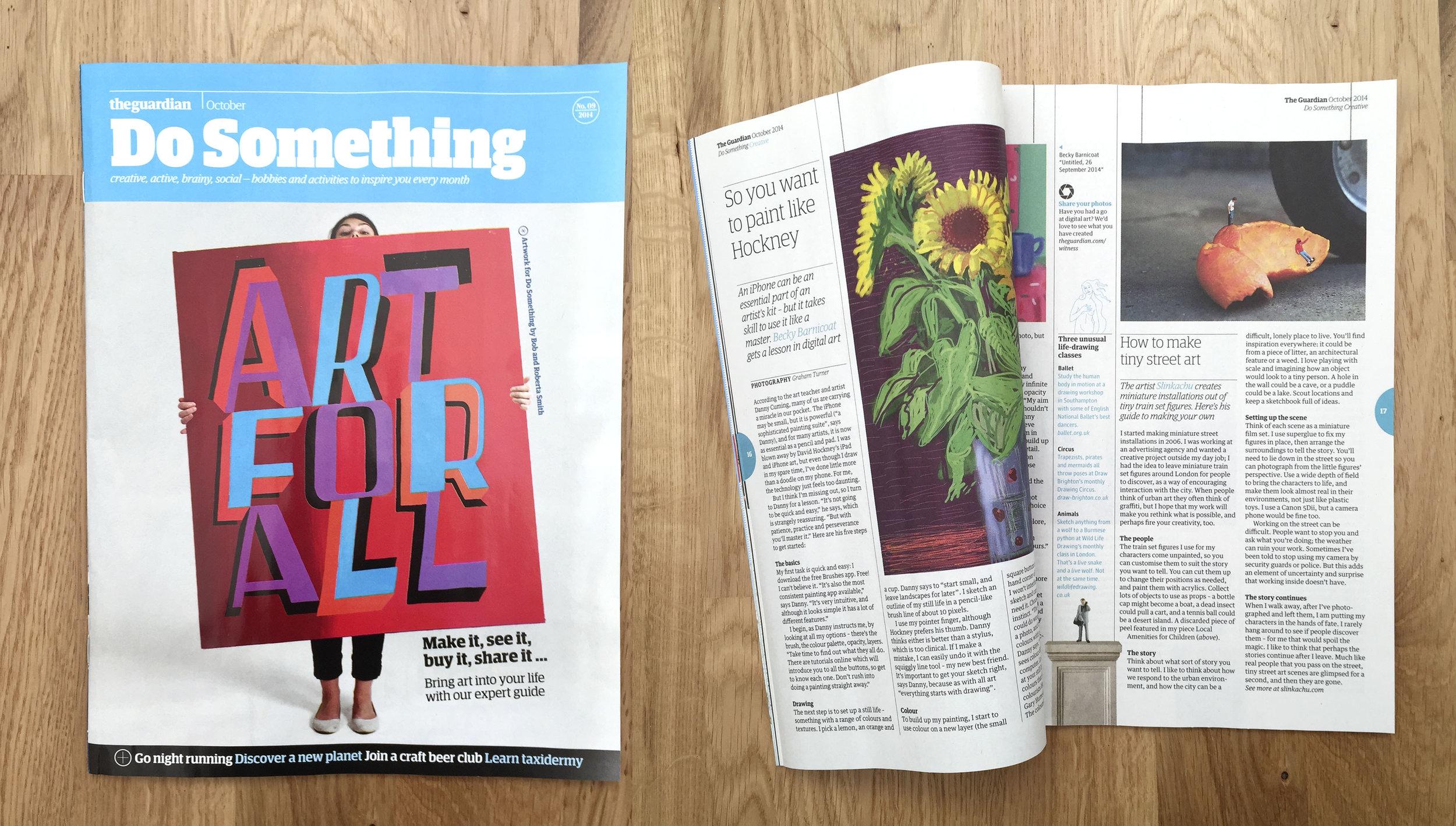 Guardian supplement October 2014