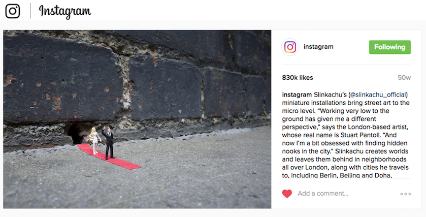 Instagram official feed  19th November 2015