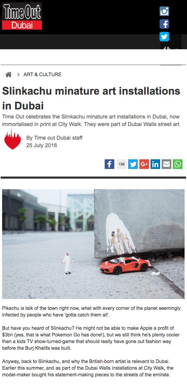 Time Out Dubai  25th July 2016