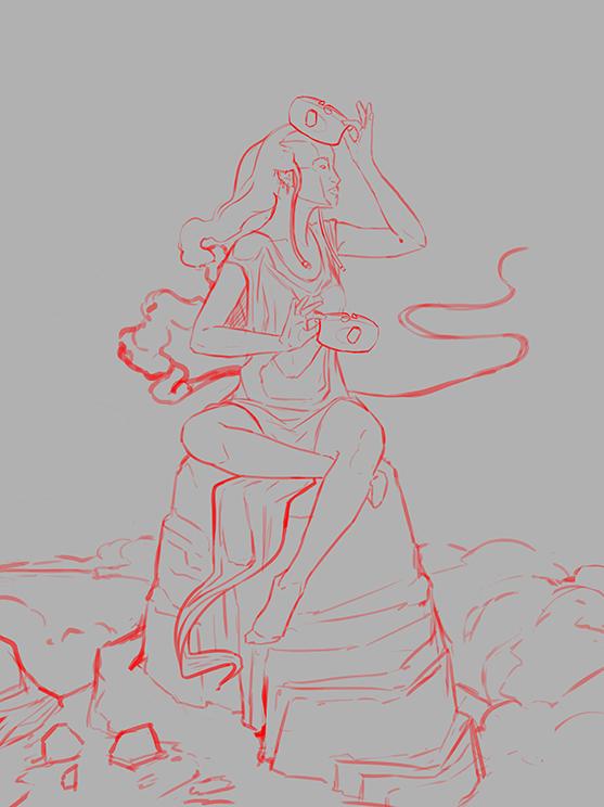 Abuto Rough Sketch Jack Baker