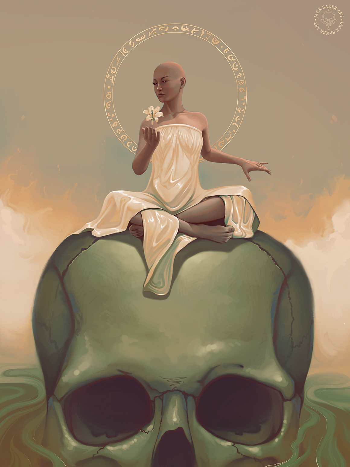 Lili Lady of Death Digital Painting.jpg