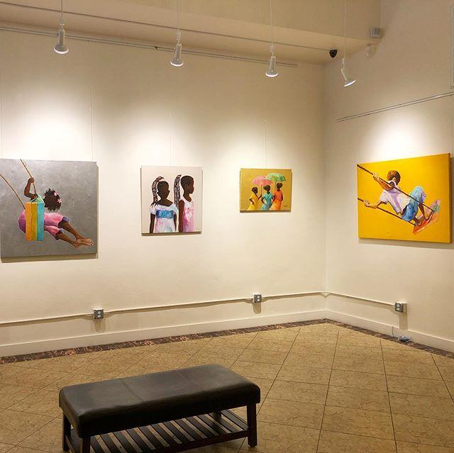 "Brighten this rainy and gloomy day with colorful art 🌈 Free exhibit ""Sensaciones del Carribe"" is on view at IAMA. . . #californiaart #artistsoninstagram #sanfrancisco #sfmuseum #sanfrancisco #sfevent #sanfranciscofree #sfbayarea"