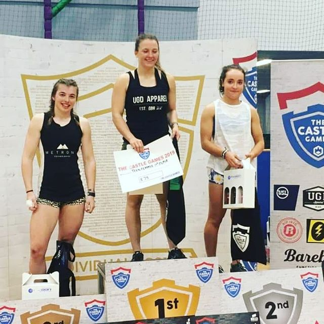 Congratulations to @_sophiafrey for winning the @thecastlegames teenager category yesterday, keeping the win streak going 💪💪#cfsunderland #teenchamp