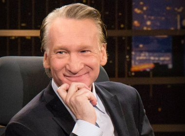 pictured is Bill Maher