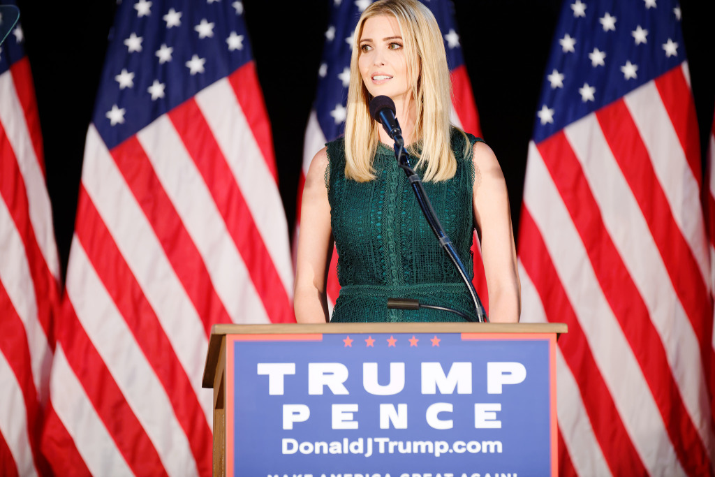 Ivanka Trump during the campaign trial. Photo via  Thought Catalog.