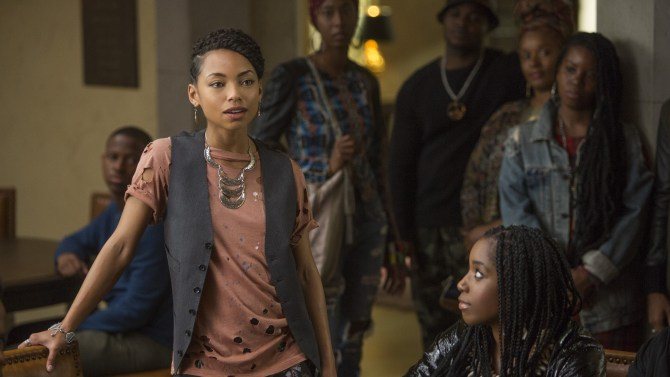 scene from  Dear White People , photo via  Variety