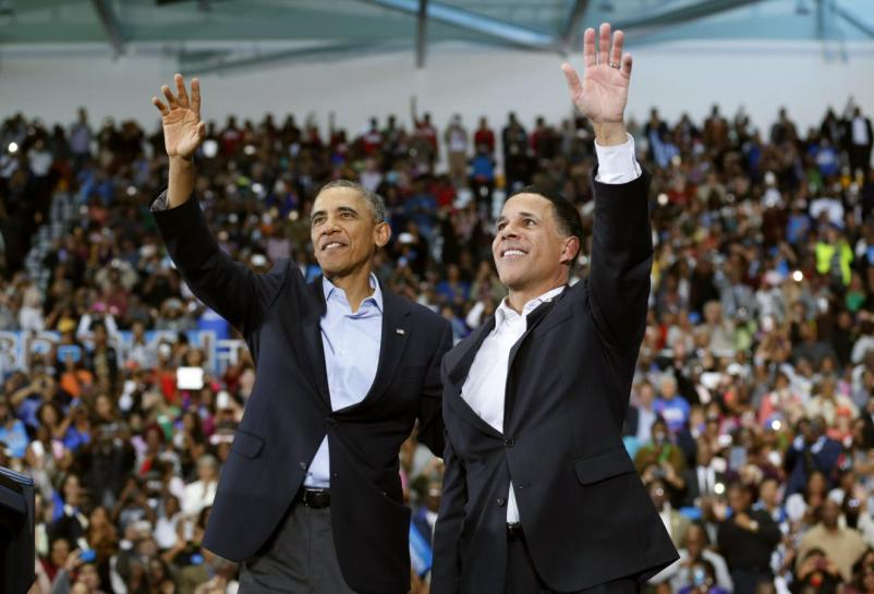 Obama and Brown, photo via  Reuters