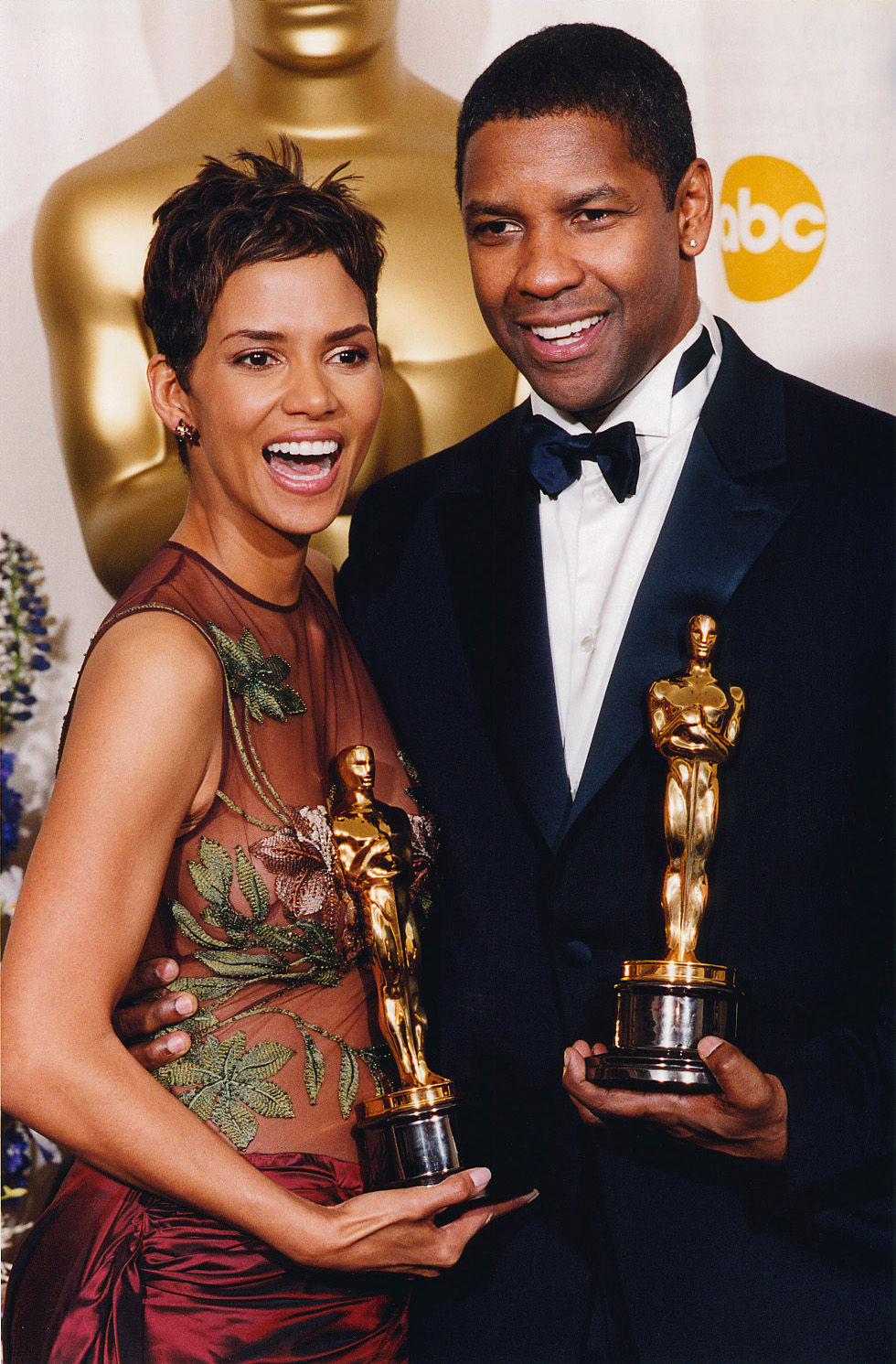 Berry on Oscar night, photo via  Academy of the Motion Pictures