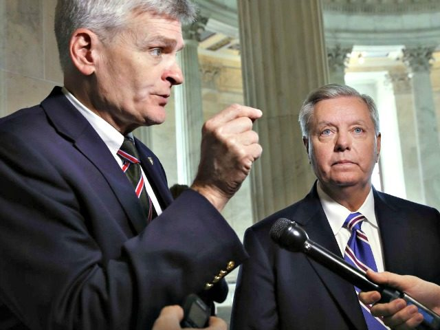Graham and Cassidy, photo via  AP