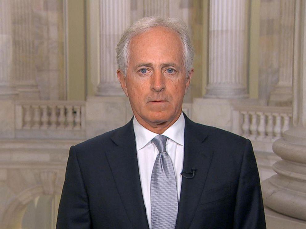 Corker on Good Morning America, photo via  ABC News