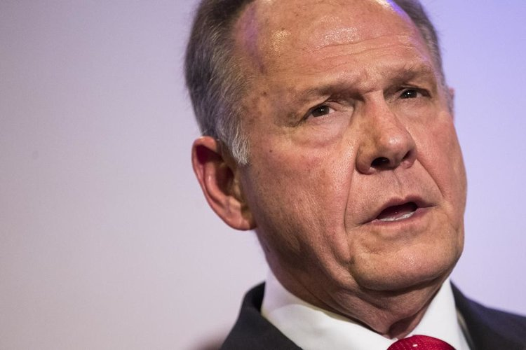 Roy Moore, photo via  Slate
