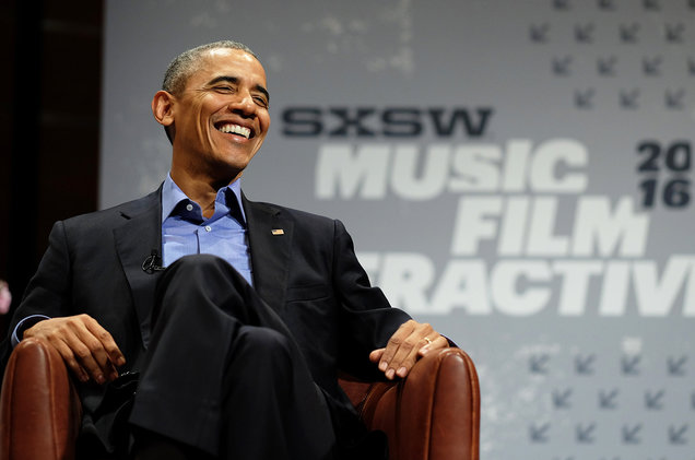 Barack Obama, photo via  Getty Images