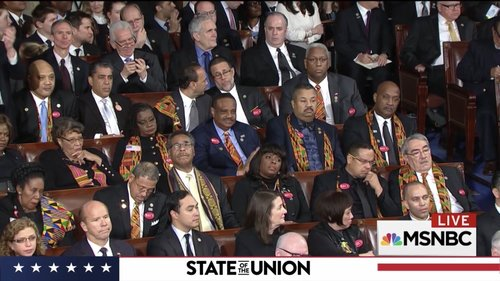 members of the Congressional Black Caucus (CBC) being hilariously unimpressed, photo via  MSNBC