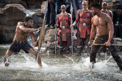 T'Challa and KillMonger, photo via  Disney