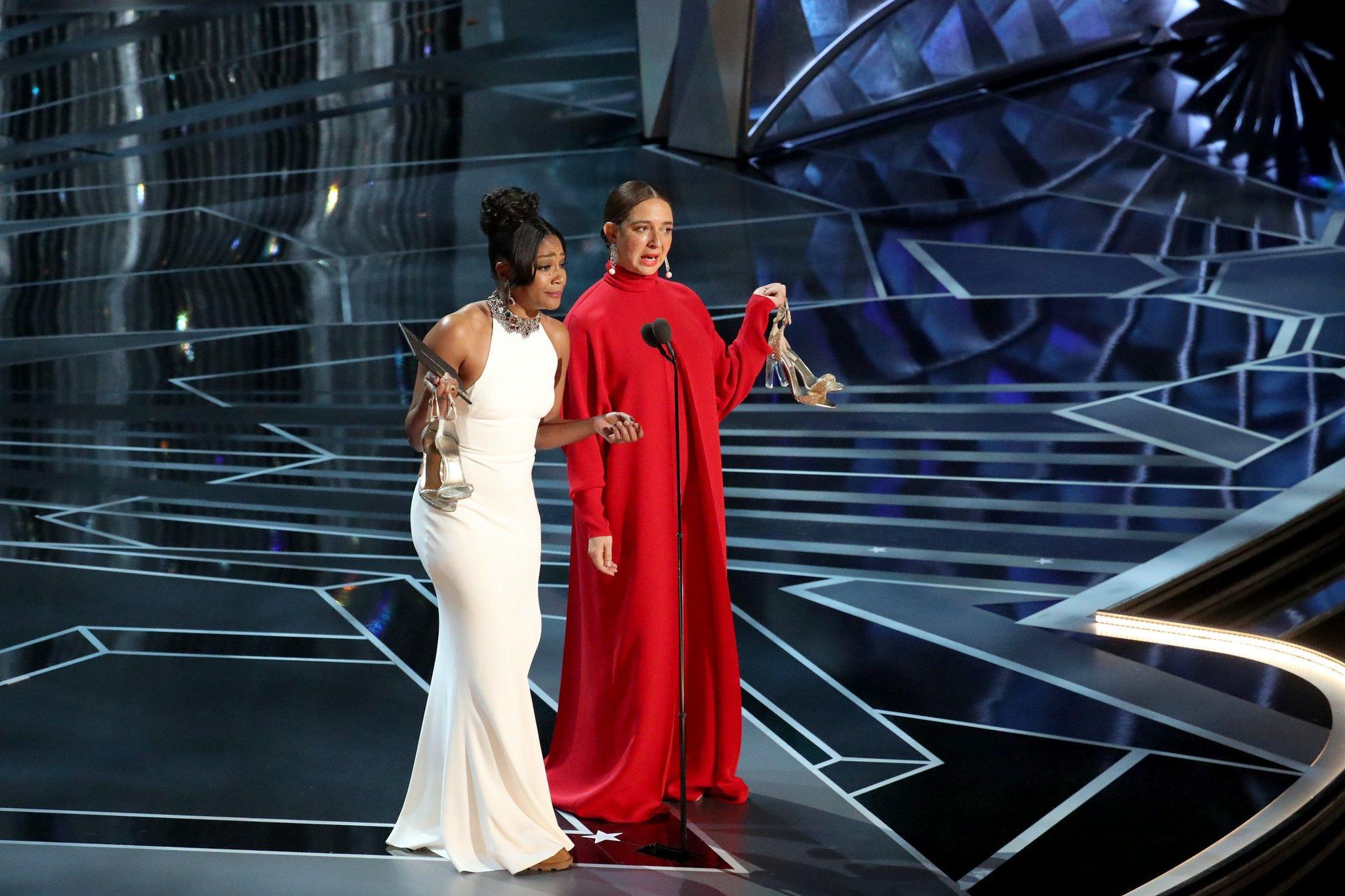 Tiffany Haddish and Maya Rudolph, photo via  NBC