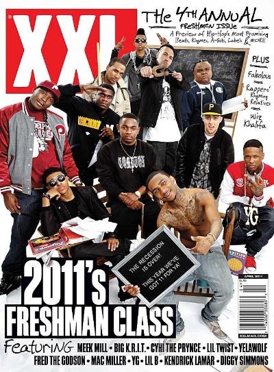 XXL Freshman class of 2011, photo via  XXL