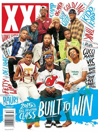 XXL Freshman of 2015, photo via  XXL