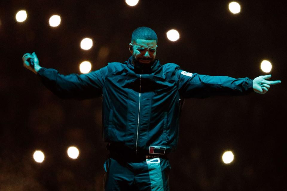 Drake, photo via  Forbes