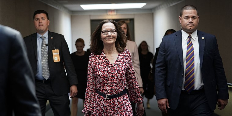 Gina Haspel, photo via  NBC News