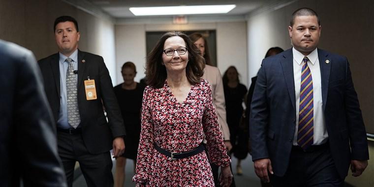 Gina Haspel. photo via  NBC News