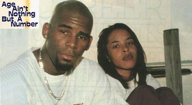 R Kelly and Aaliyah. Photo via  Vibe.com