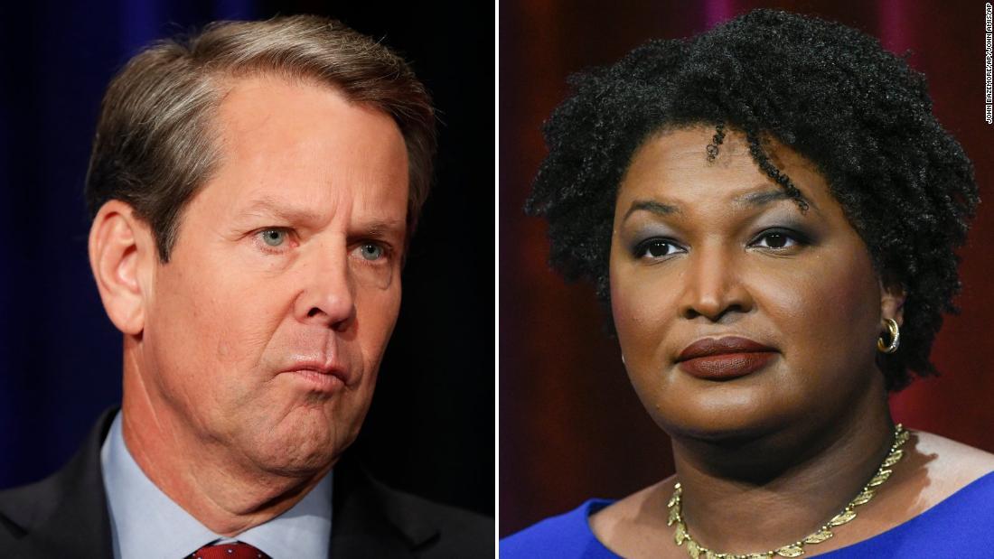 Abrams and Kemp, photo via CNN