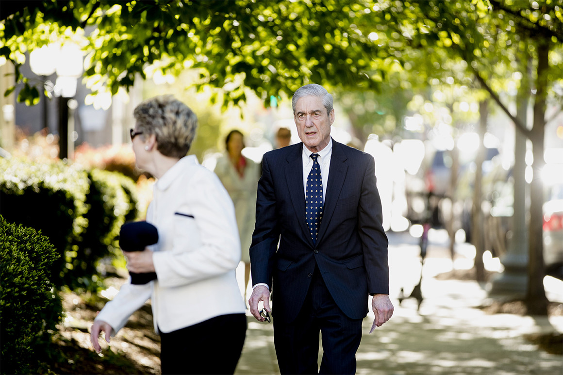 Robert Mueller, photo via  AP