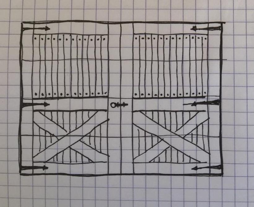 Wedberg Customer Garage Door Design