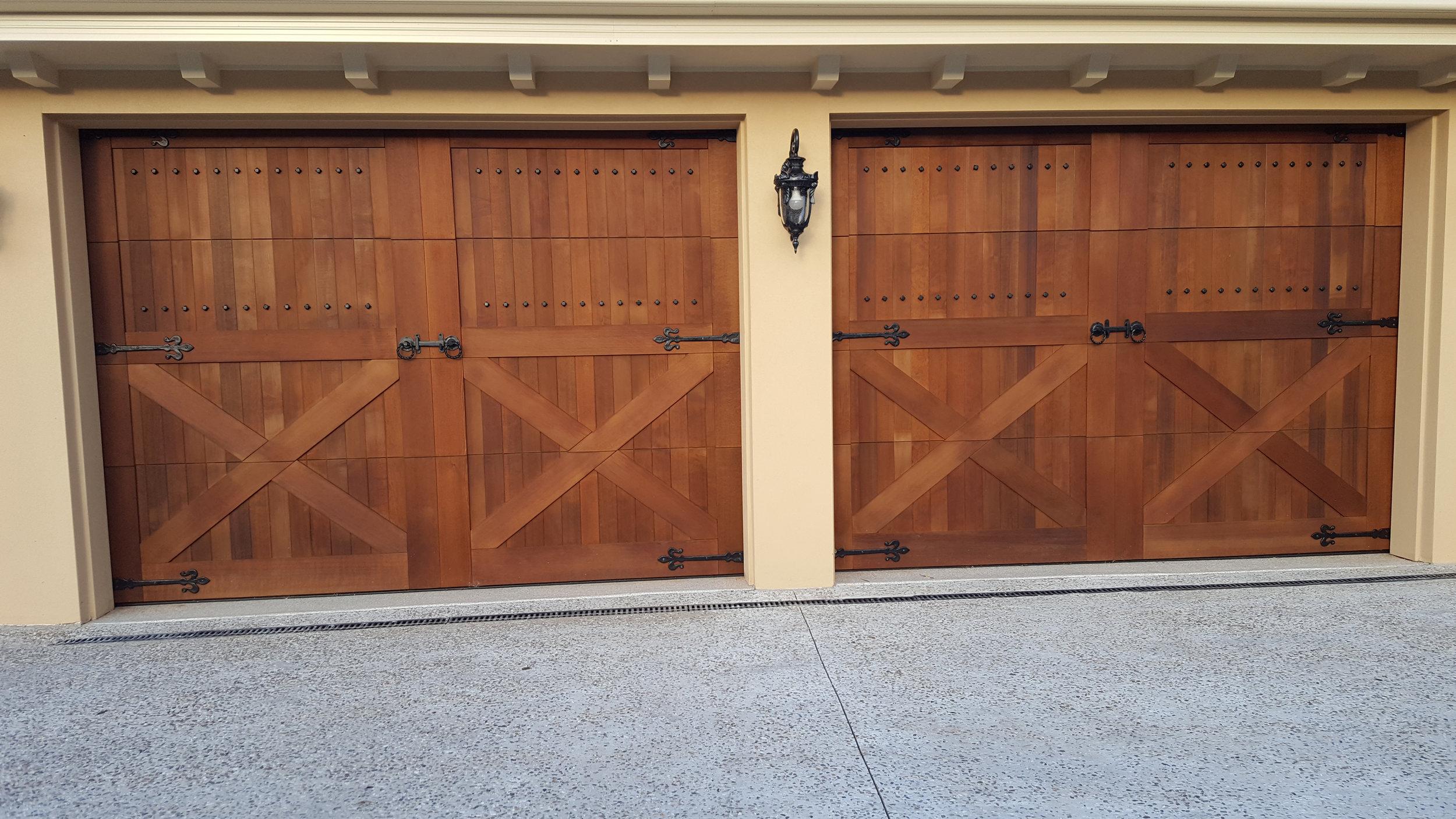 Custom Wedberg Garage Door Final Product