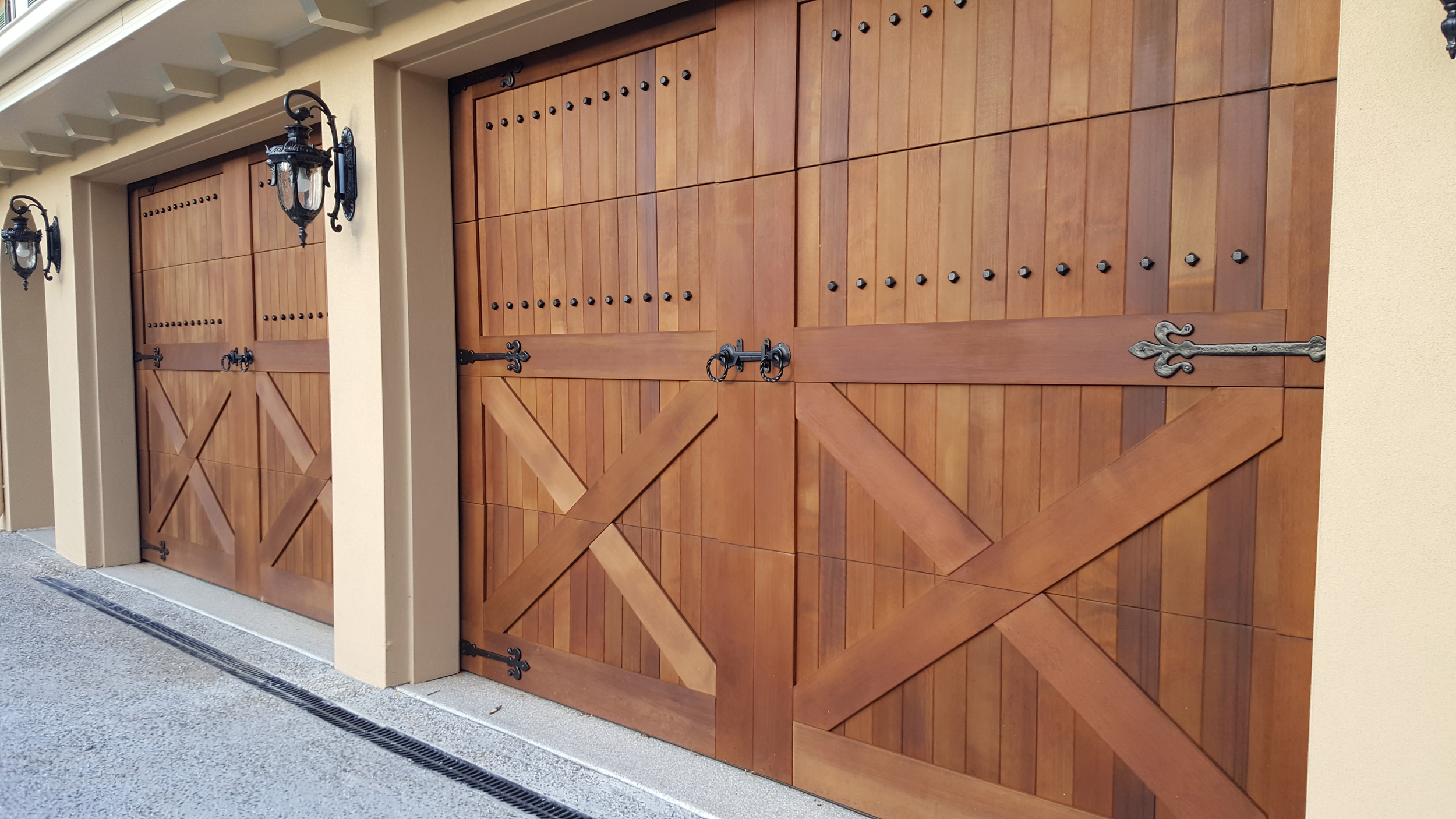Custom Wedberg Garage Door