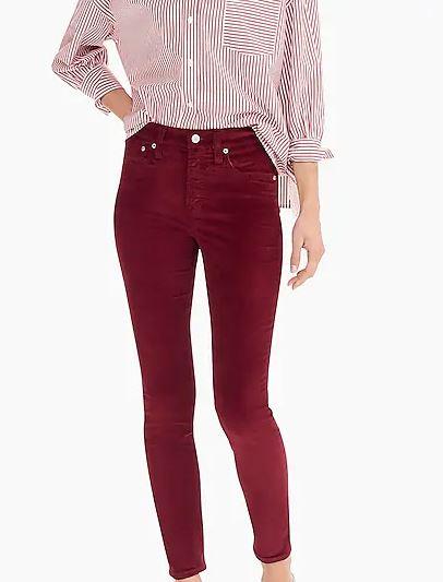 Velvet Pants -
