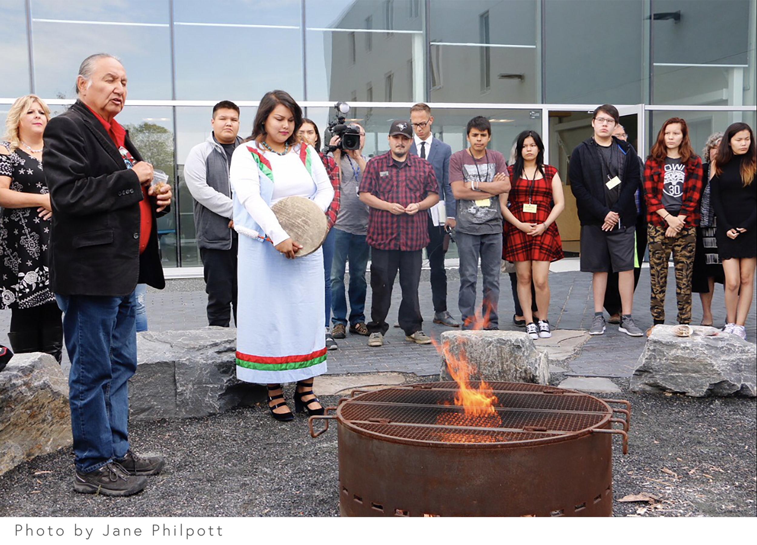 Southeast Collegiate _ Landscape Architecture _ Winnipeg _ Courtyard Design_firepit.jpg