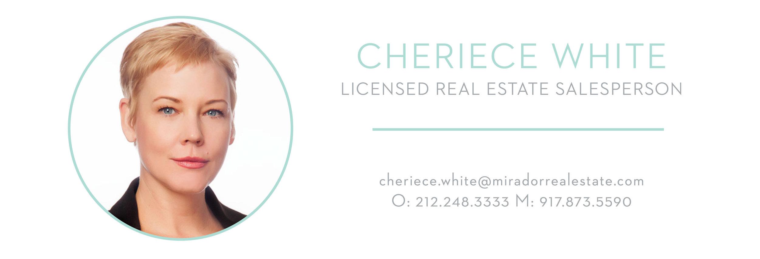Cheriece White