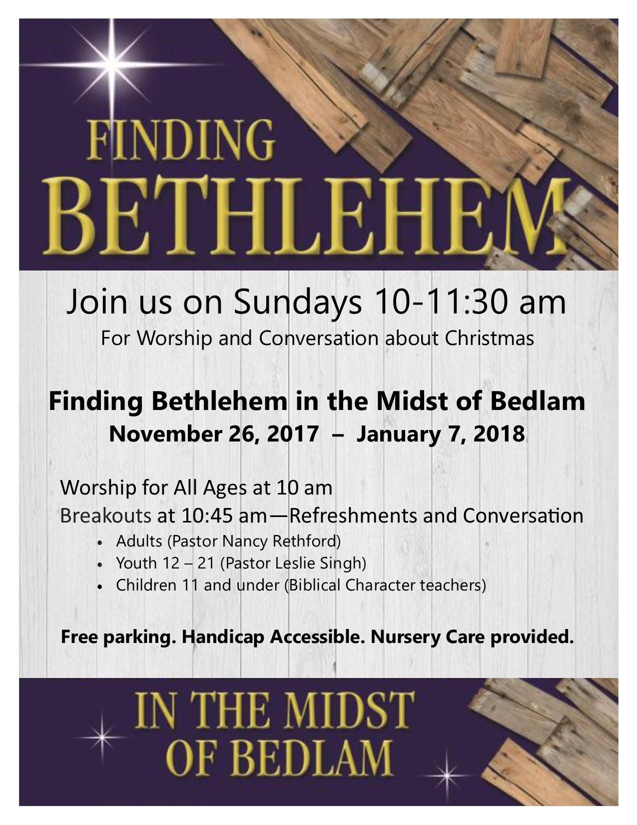 2017 Finding Bethlehem in the Midst of Bedlam community flyer.jpg