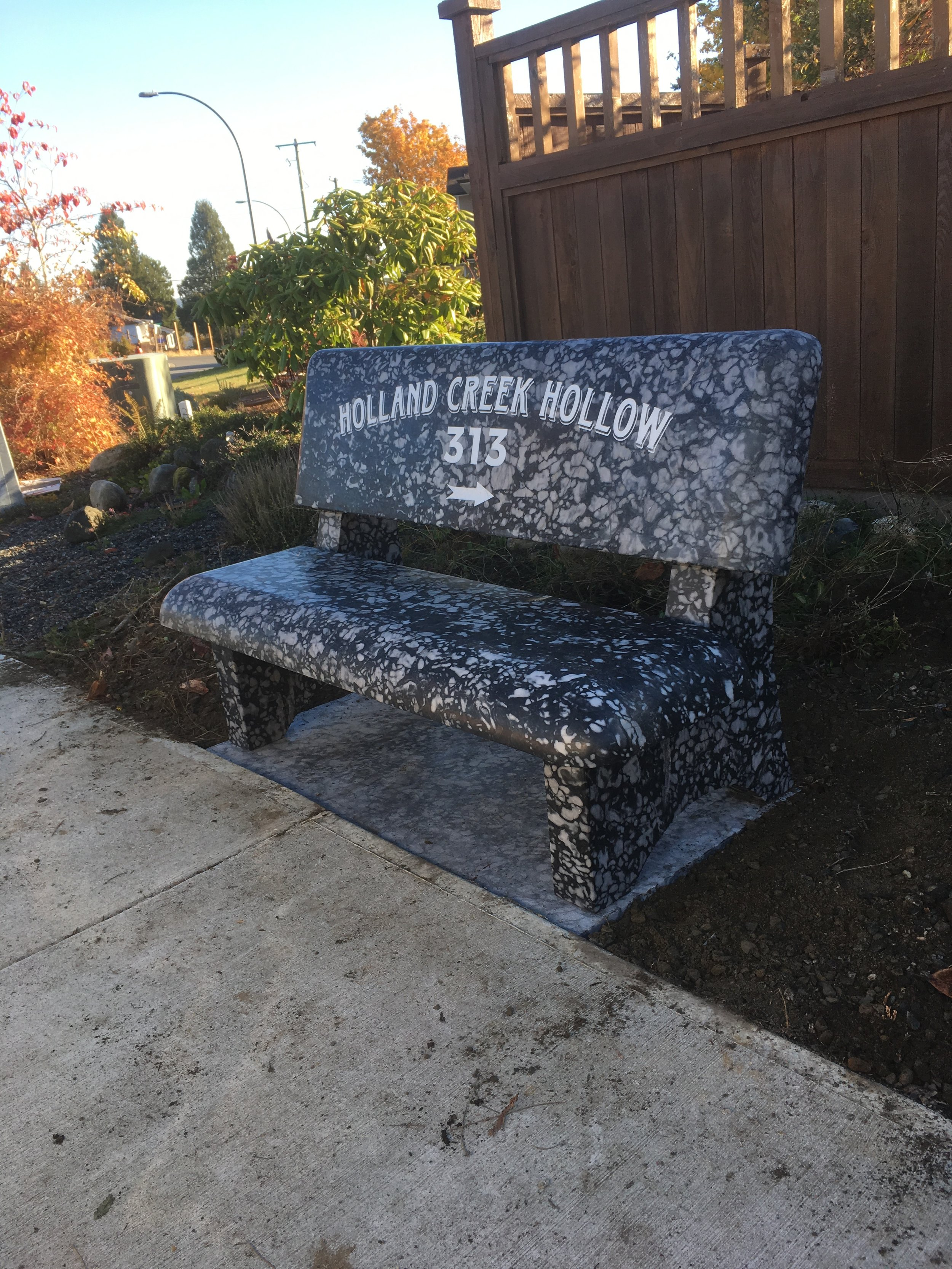 Eternal Benches