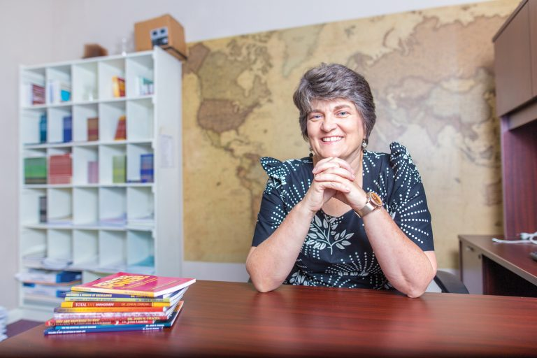 Regina Chacha honored as 2018 Alumna of the Year at Eastern Mennonite University - Read the full article on Crossroads →