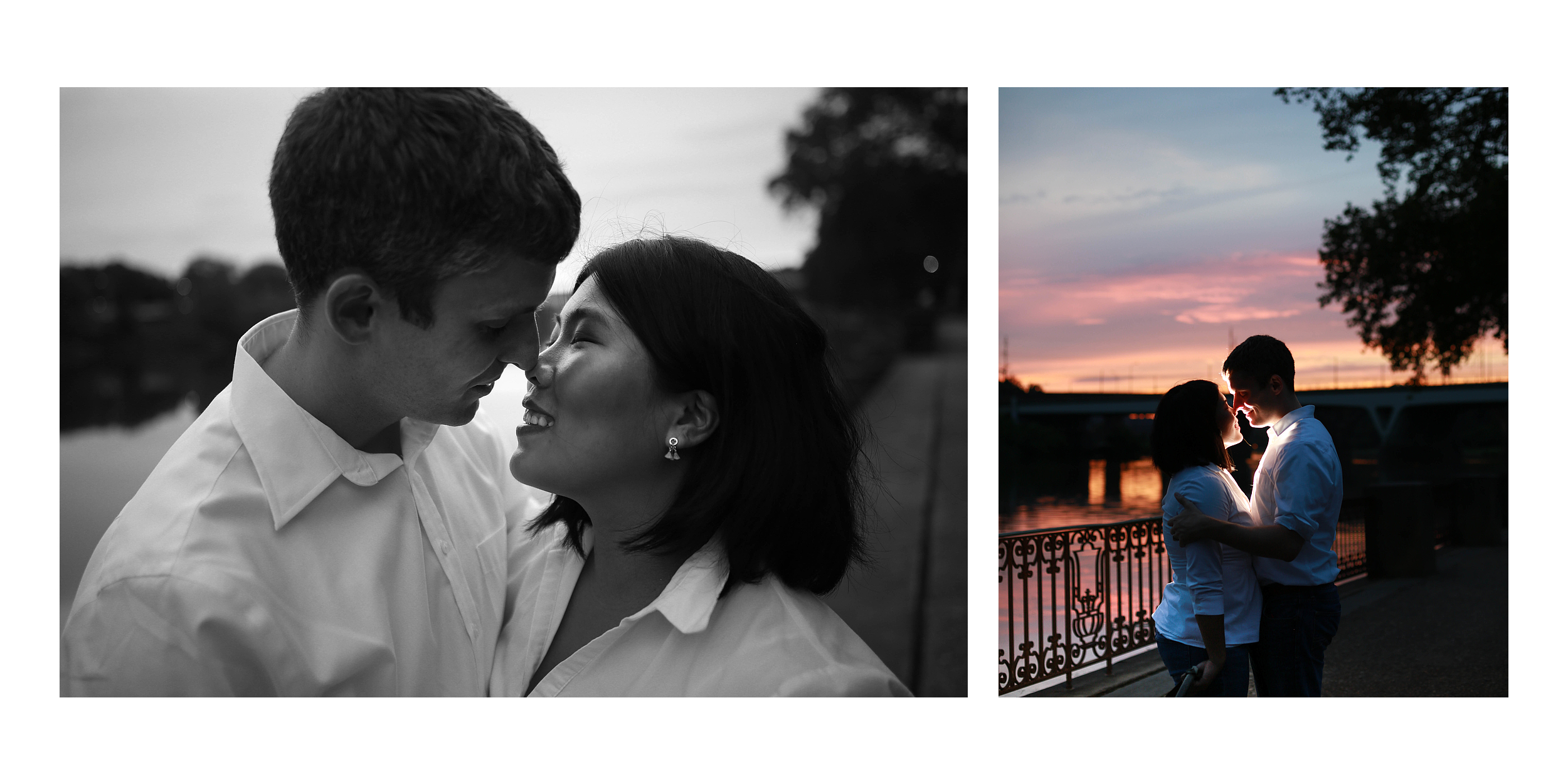Romantic family photos in Philadelphia