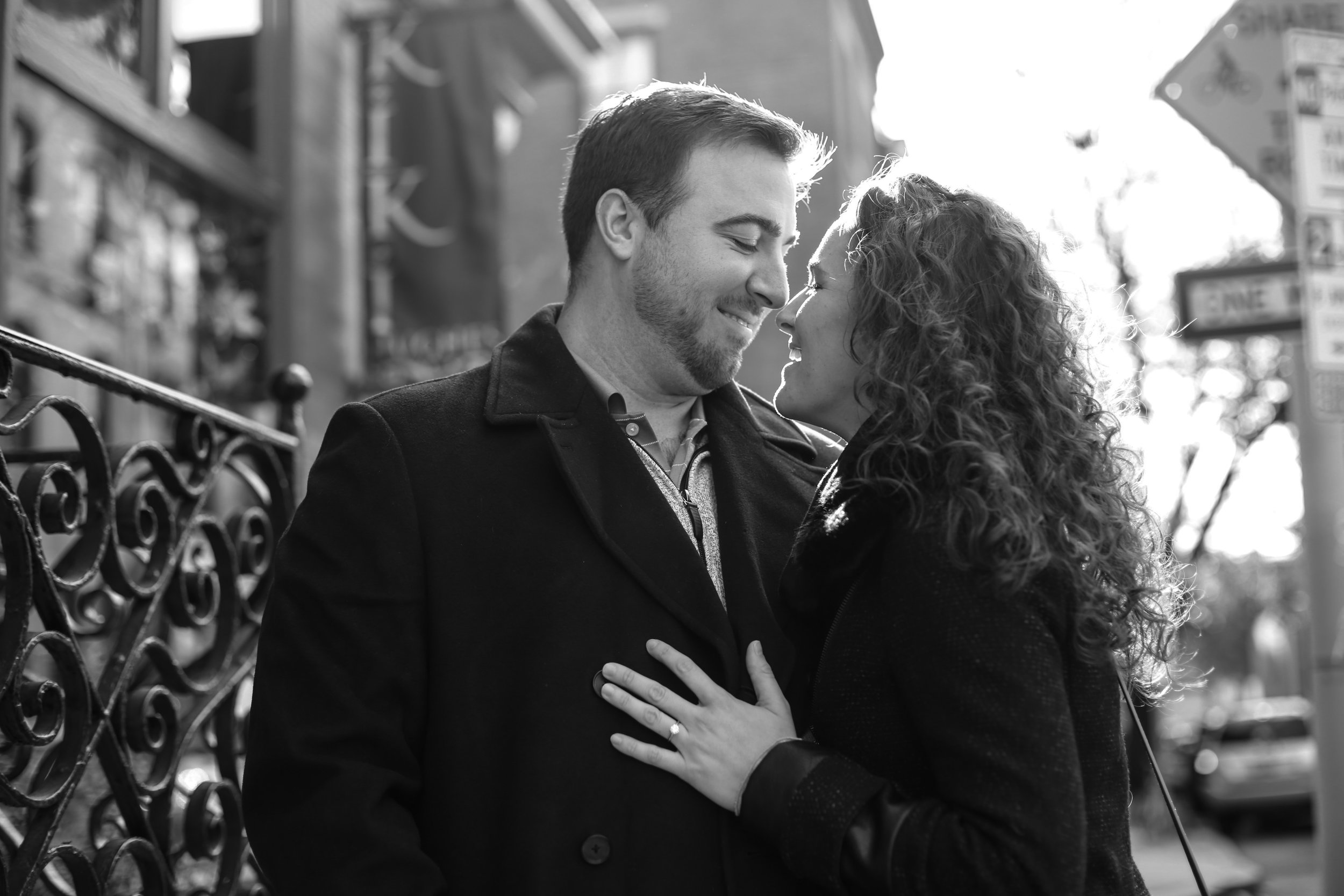 Philadelphia suprise proposal  Inna Ovsepian Photography