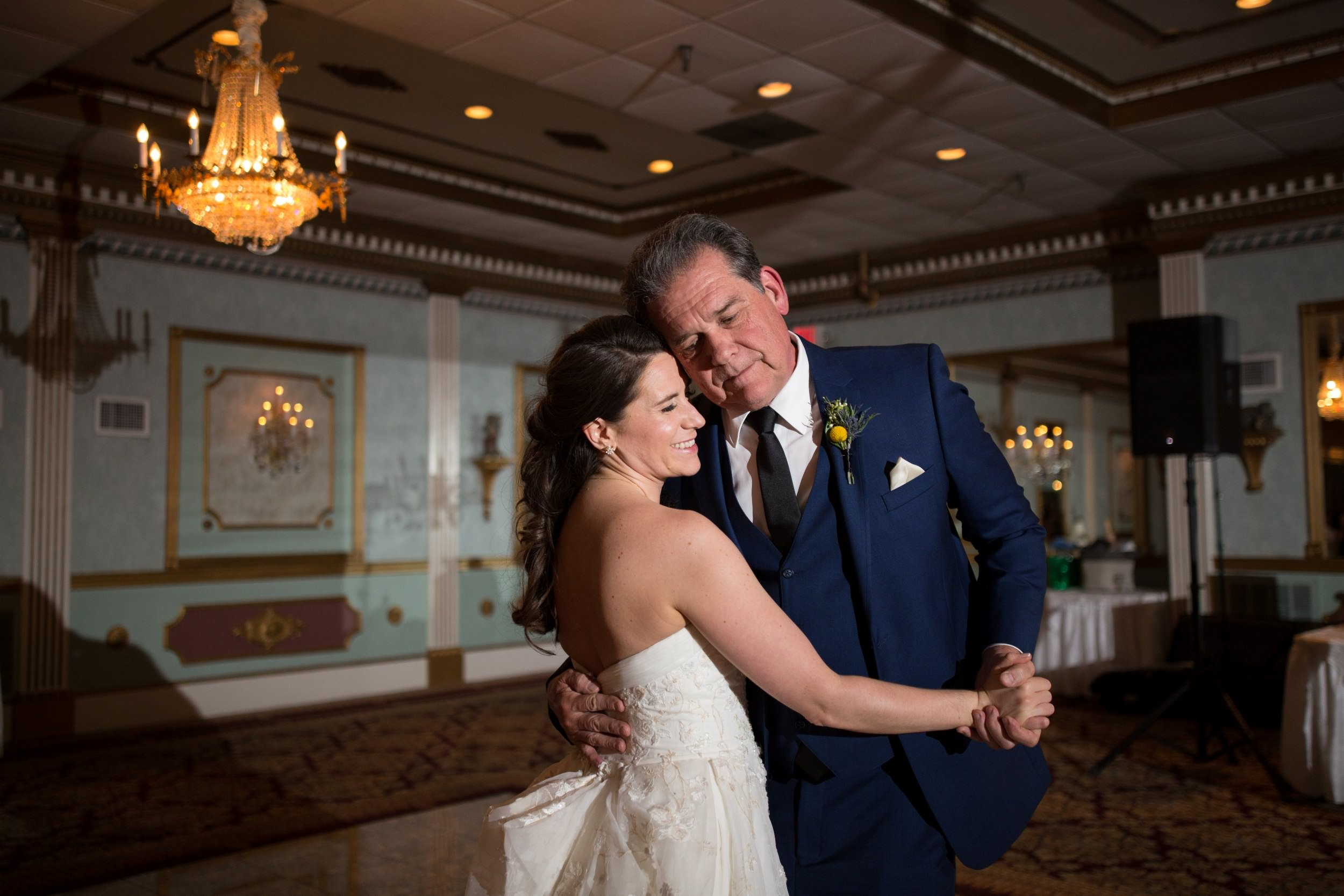Father- daughter dance at Mendenhall Inn in Media