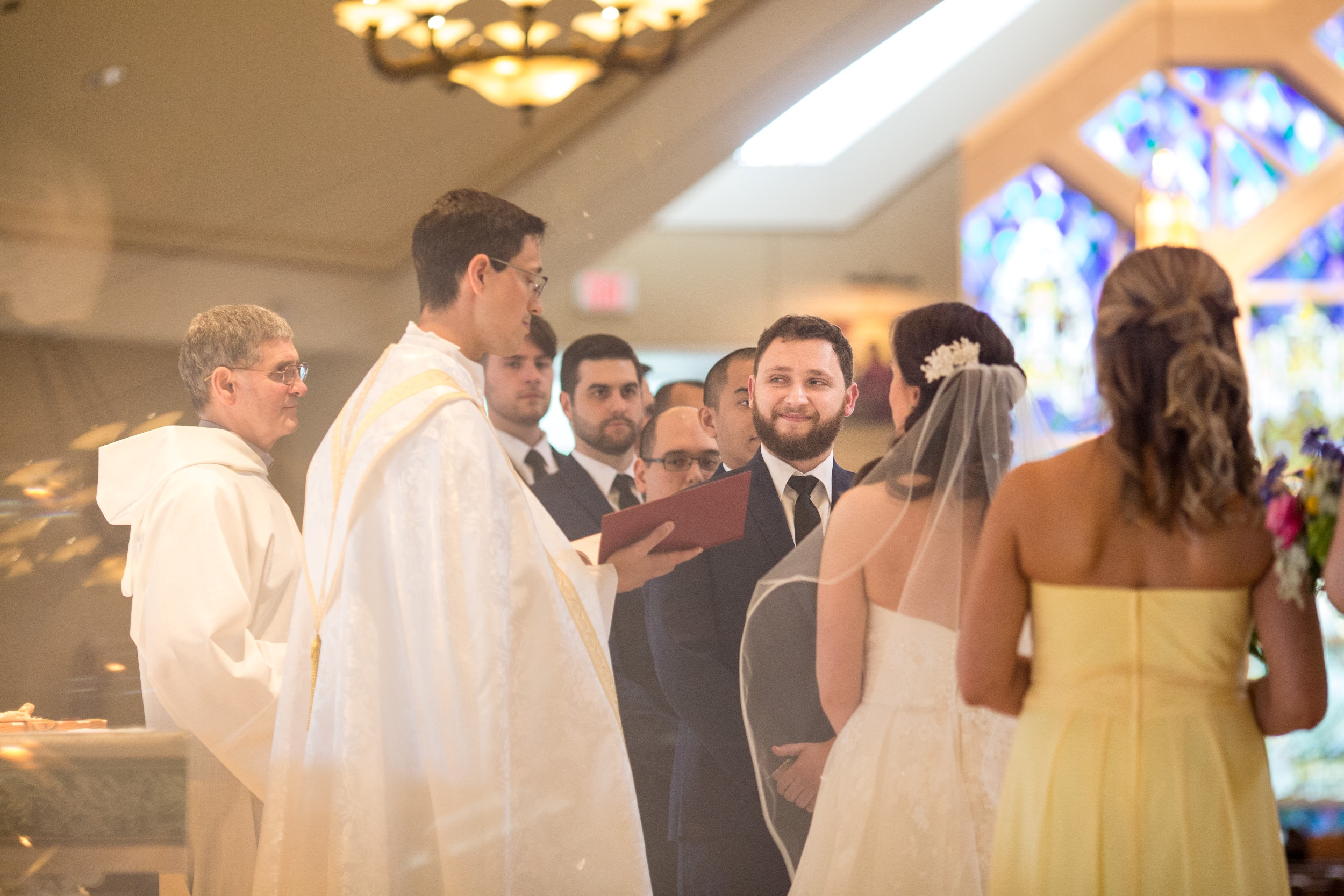 Ceremony at St Mary Magdalen Parish in Media