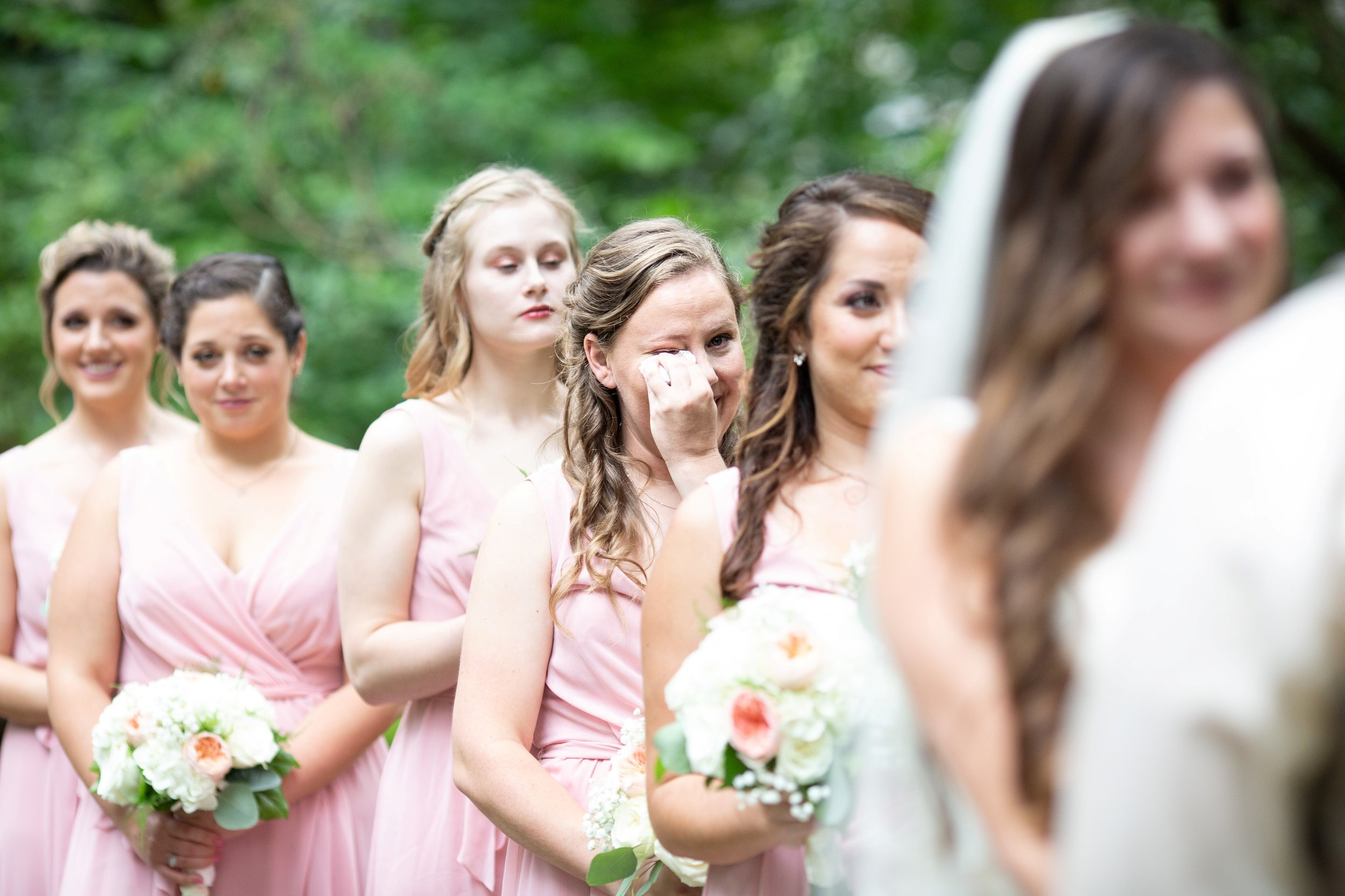 maid of honor tears