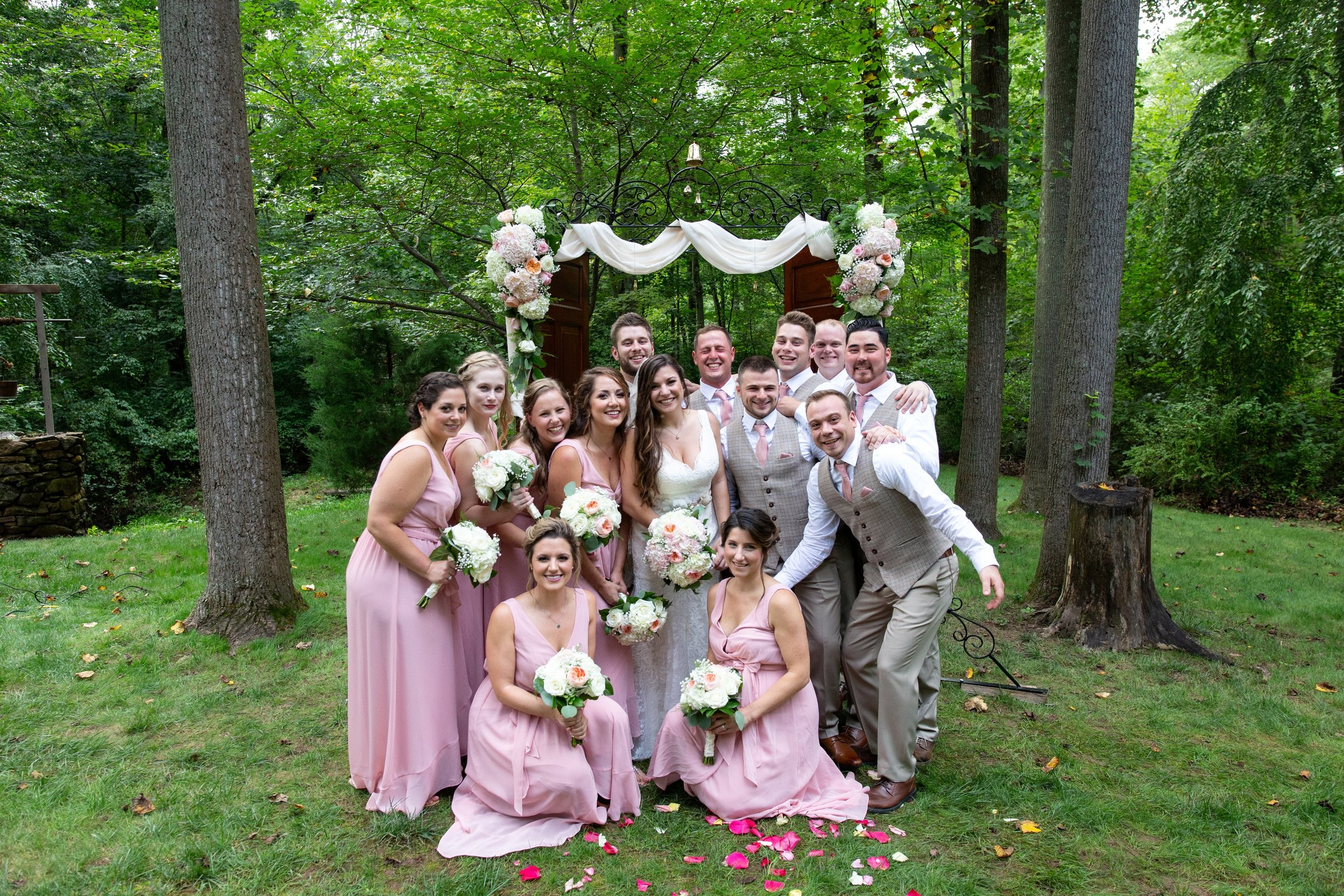 bridal party photo ideas