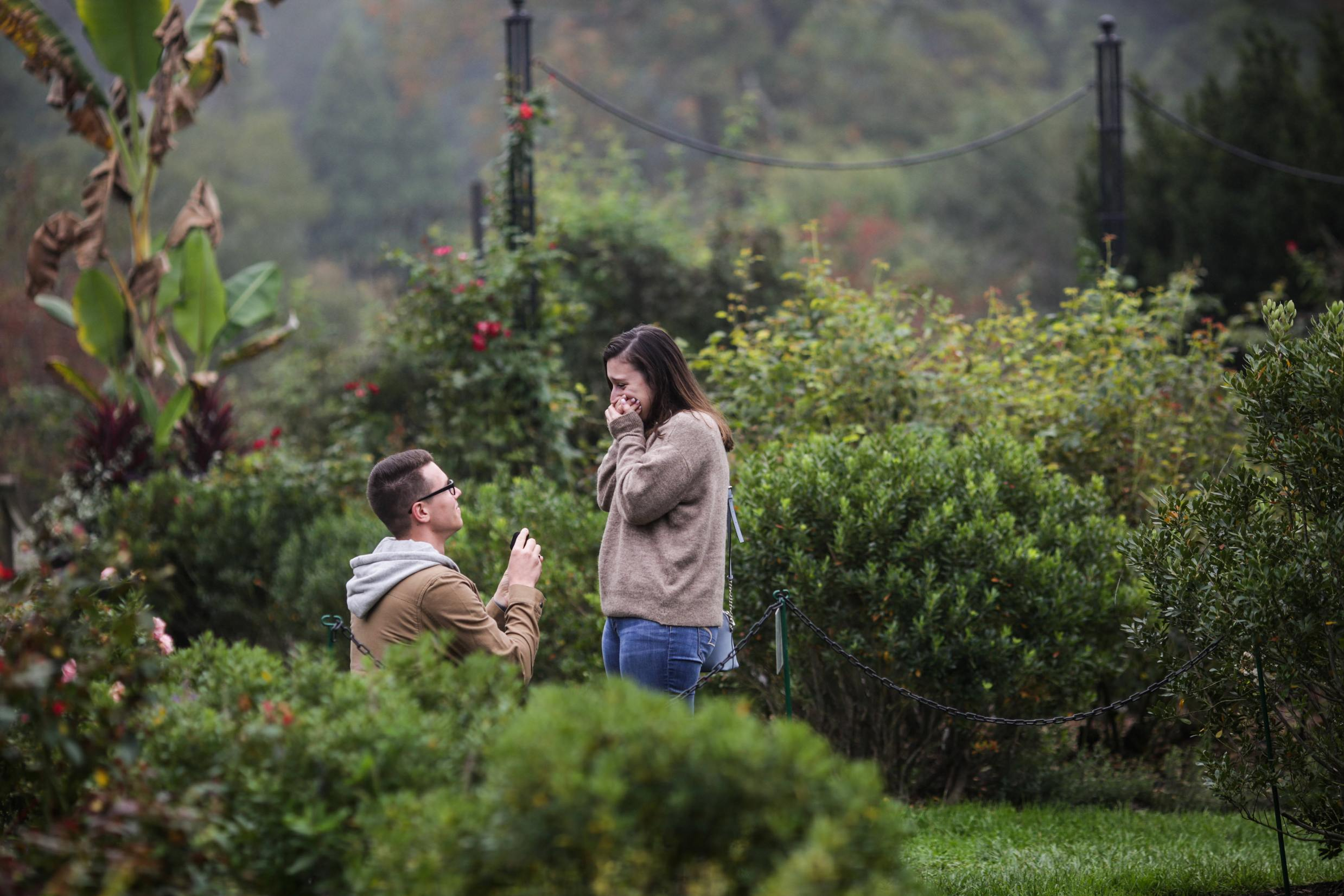 She said yes! -