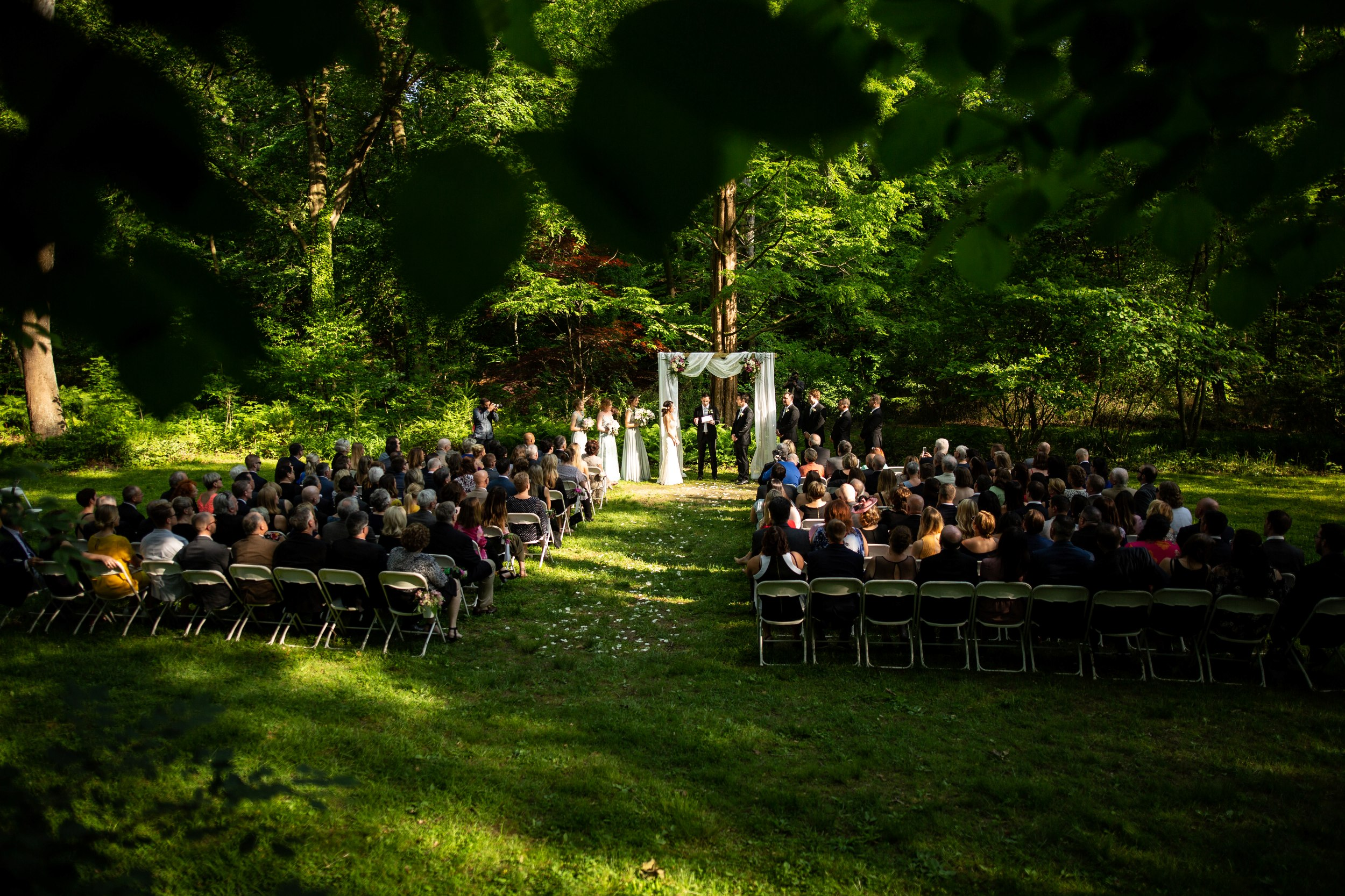 old mill rose valley wedding photos