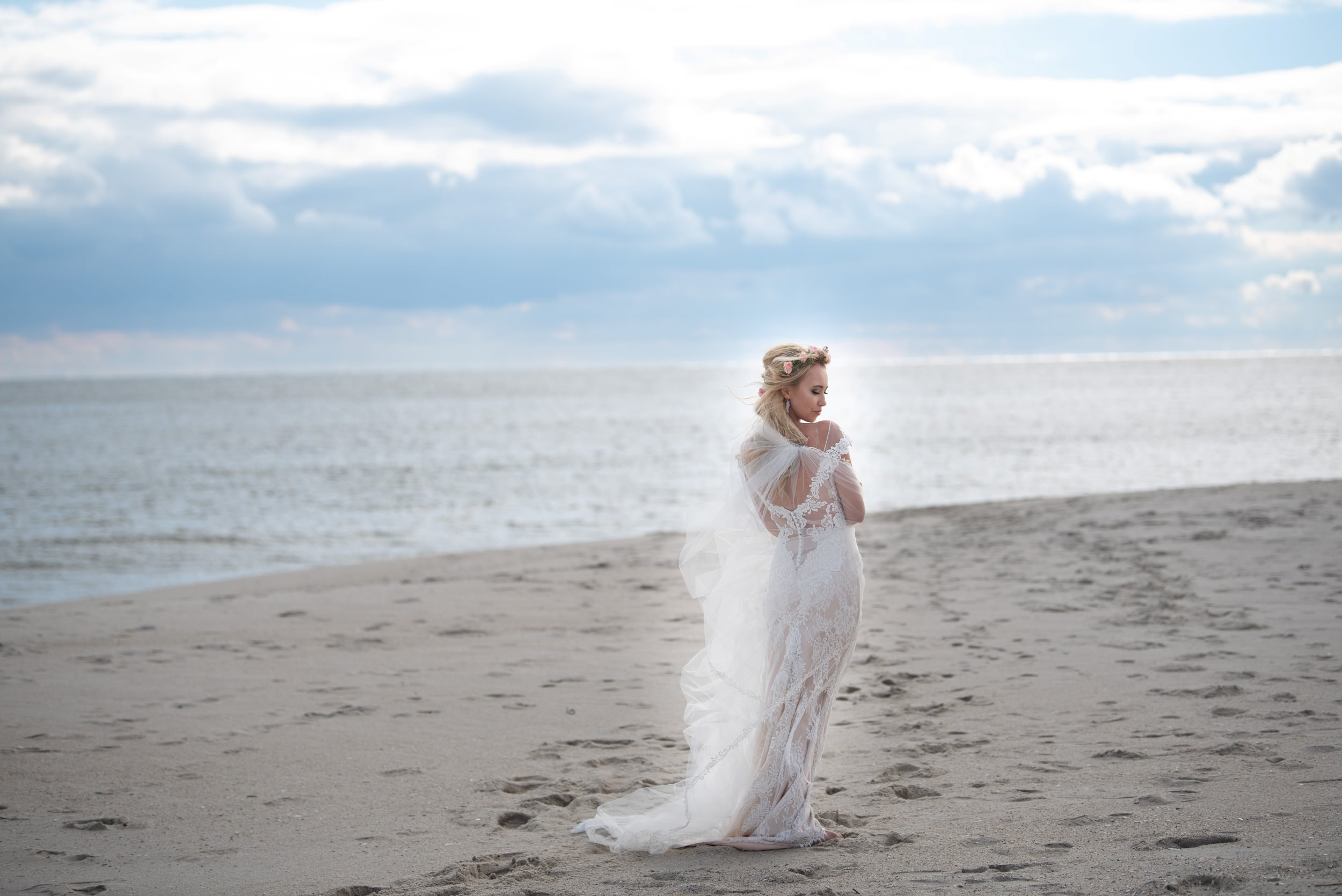 bride in cape may nj