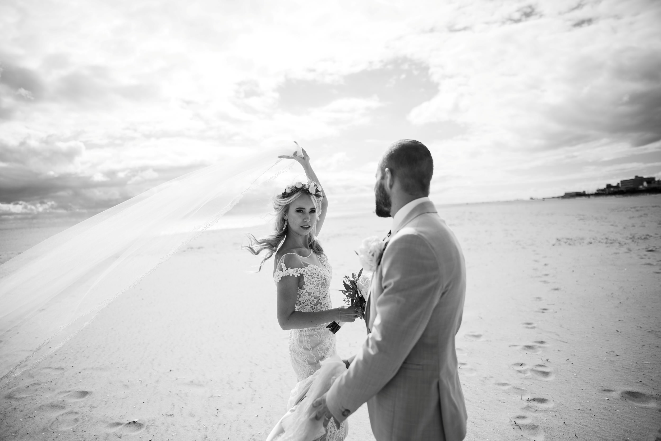 romantic wedding cape may nj