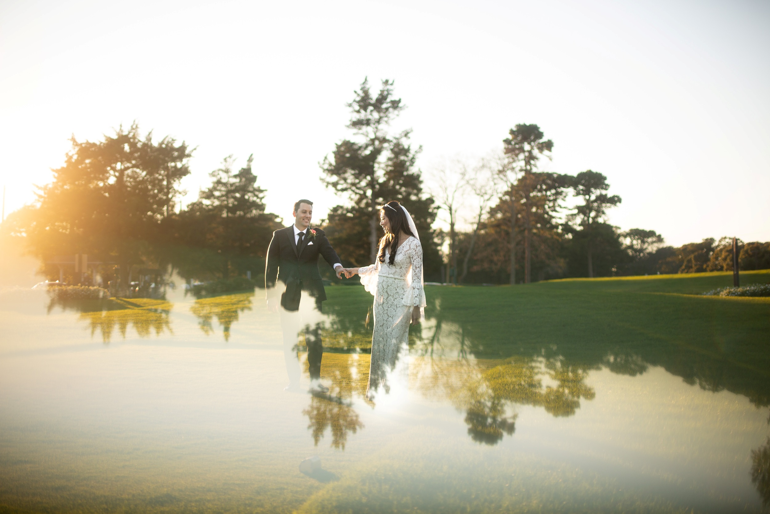 creative wedding photos nj
