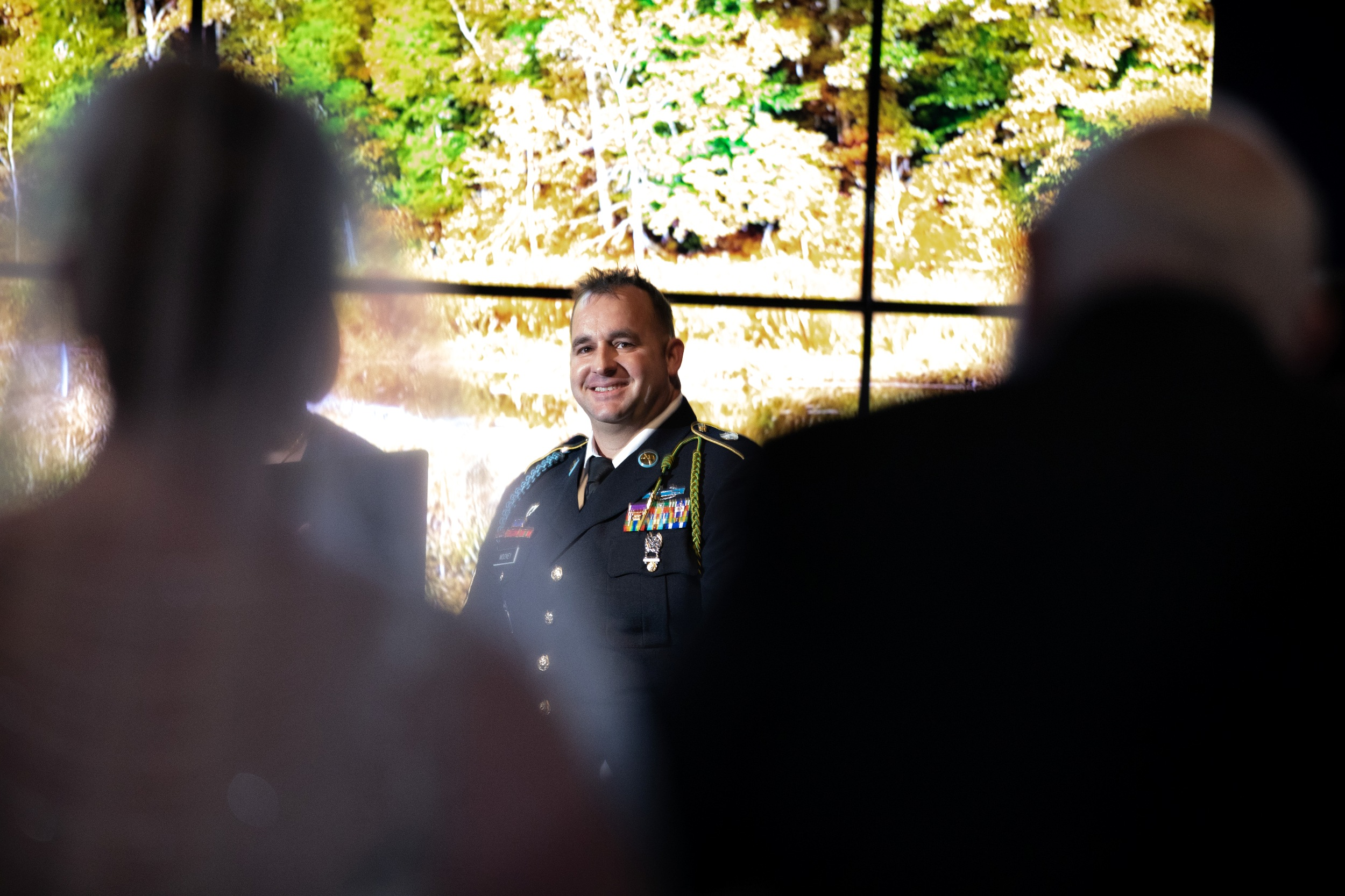 groom's reaction to the bride