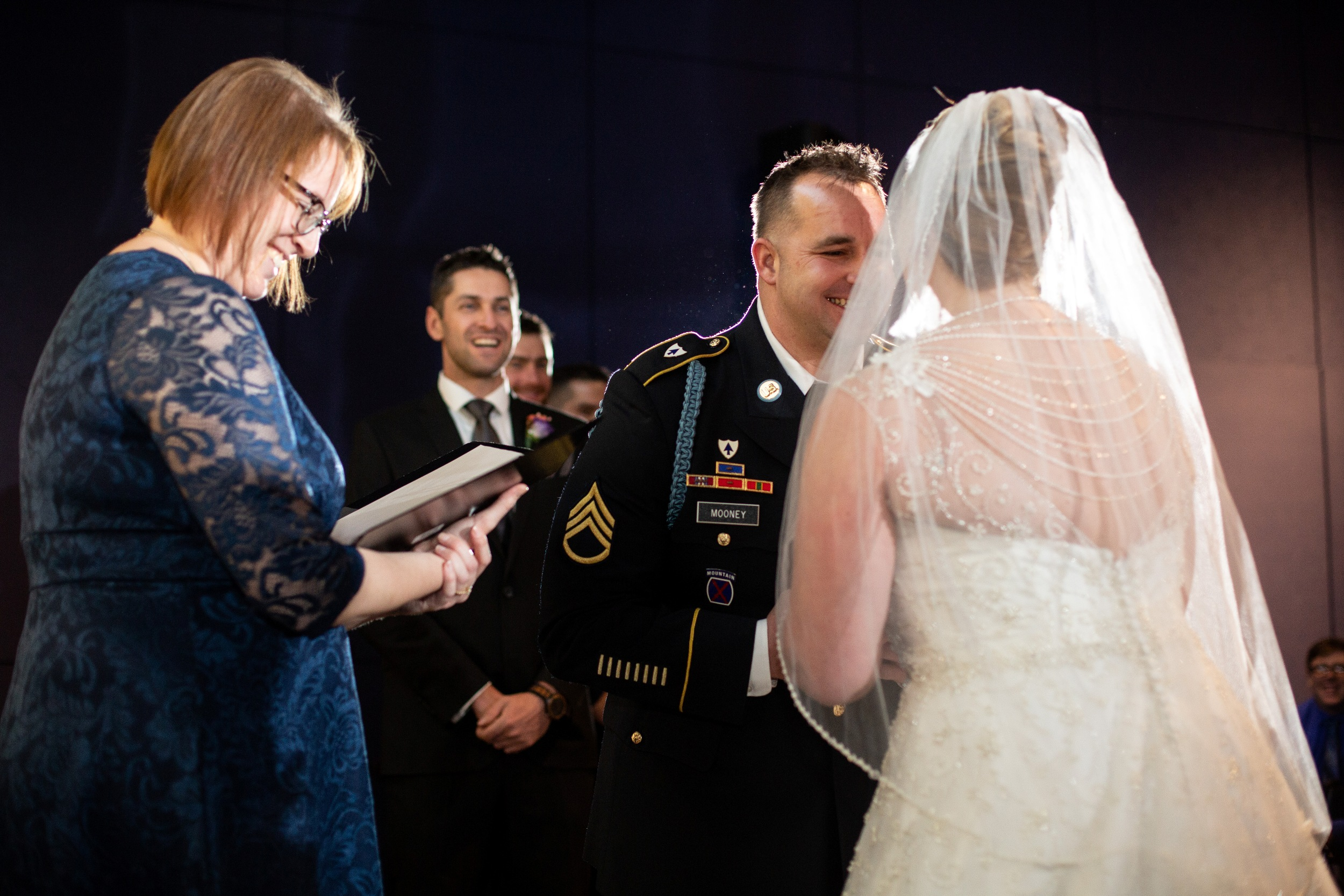 delaware contemporary wedding ceremony