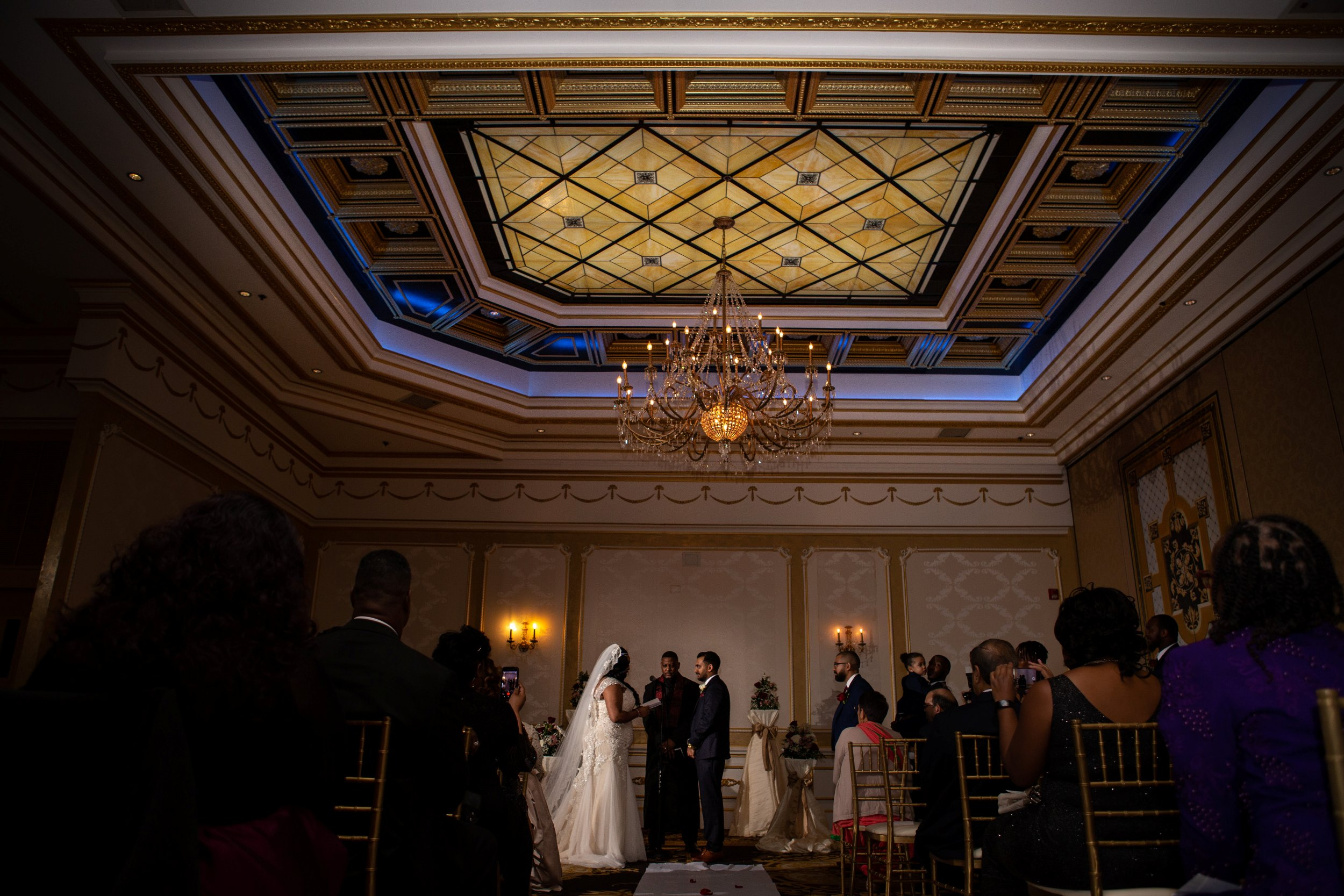 Wedding ceremony in Adelphia